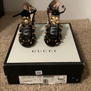 Rare Gucci studded heels
